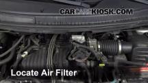 2004 Ford Freestar SEL 4.2L V6 Filtro de aire (motor)