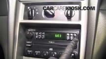 2004 Ford Mustang 3.9L V6 Coupe Clock