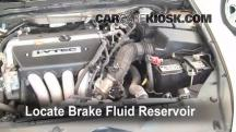 2004 Honda Accord EX 2.4L 4 Cyl. Sedan (4 Door) Brake Fluid