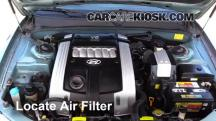 2004 Hyundai XG350 L 3.5L V6 Air Filter (Engine)