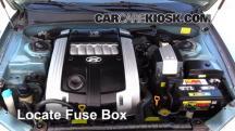 2004 Hyundai XG350 L 3.5L V6 Fusible (motor)