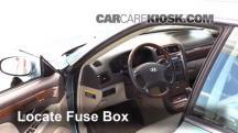 2004 Hyundai XG350 L 3.5L V6 Fusible (interior)