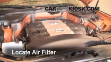 2004 Infiniti FX45 4.5L V8 Air Filter (Engine)