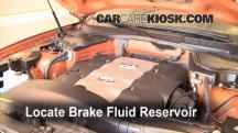 2004 Infiniti FX45 4.5L V8 Brake Fluid