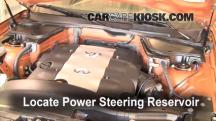 2004 Infiniti FX45 4.5L V8 Power Steering Fluid