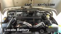 2004 Jeep Wrangler Rubicon 4.0L 6 Cyl. Battery