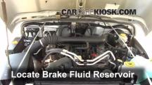 2004 Jeep Wrangler Rubicon 4.0L 6 Cyl. Brake Fluid