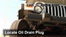 2004 Jeep Wrangler Rubicon 4.0L 6 Cyl. Oil