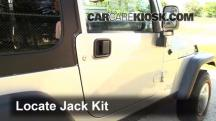 2004 Jeep Wrangler Rubicon 4.0L 6 Cyl. Jack Up Car
