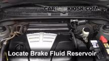 2004 Kia Rio 1.6L 4 Cyl. Brake Fluid