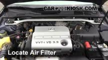 2004 Lexus ES330 3.3L V6 Air Filter (Engine)