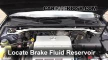 2004 Lexus ES330 3.3L V6 Brake Fluid