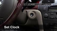2004 Lexus ES330 3.3L V6 Clock