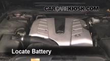 2004 Lexus LS430 4.3L V8 Battery