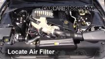 2005 Lincoln LS Sport 3.9L V8 Air Filter (Engine)