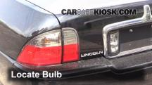 2004 Lincoln LS 3.0L V6 Luces