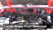 2004 Mazda B3000 SE 3.0L V6 Brake Fluid