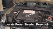 2004 Nissan Maxima SE 3.5L V6 Power Steering Fluid