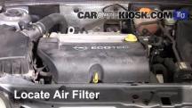 2004 Opel Signum Sport 2.0L 4 Cyl. Turbo Filtro de aire (motor)