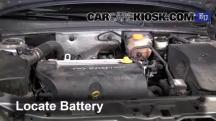 2004 Opel Signum Sport 2.0L 4 Cyl. Turbo Battery