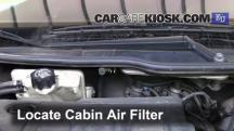 2004 Peugeot 206 XS 2.0L 4 Cyl. Turbo Diesel Filtro de aire (interior)