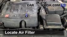 2004 Peugeot 206 XS 2.0L 4 Cyl. Turbo Diesel Filtro de aire (motor)