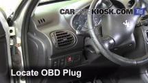 2004 Peugeot 206 XS 2.0L 4 Cyl. Turbo Diesel Compruebe la luz del motor