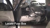 2004 Toyota Tacoma Pre Runner 3.4L V6 Crew Cab Pickup (4 Door) Fusible (interior)
