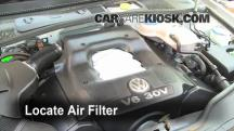 2004 Volkswagen Passat GLX 2.8L V6 Wagon Air Filter (Engine)