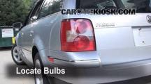 2004 Volkswagen Passat GLX 2.8L V6 Wagon Lights