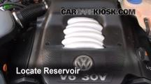 2004 Volkswagen Passat GLX 2.8L V6 Wagon Windshield Washer Fluid