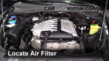 2004 Volkswagen Touareg V6 3.2L V6 Air Filter (Engine)