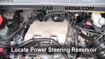 2005 Buick Rendezvous CX 3.4L V6 Power Steering Fluid