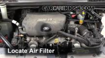 2005 Buick Terraza CX 3.5L V6 Air Filter (Engine)