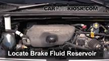 2005 Buick Terraza CX 3.5L V6 Brake Fluid