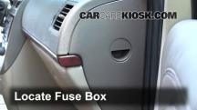 2005 Buick Terraza CX 3.5L V6 Fusible (interior)