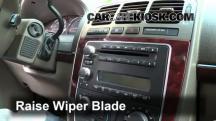 2005 Buick Terraza CX 3.5L V6 Escobillas de limpiaparabrisas delantero