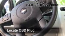 2005 Chevrolet Equinox LS 3.4L V6 Compruebe la luz del motor