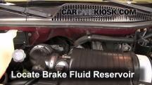 2005 Chevrolet Express 1500 5.3L V8 Standard Passenger Van Brake Fluid
