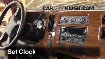 2005 Chevrolet Express 1500 5.3L V8 Standard Passenger Van Clock