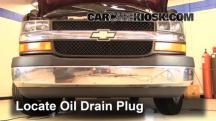 2005 Chevrolet Express 1500 5.3L V8 Standard Passenger Van Oil