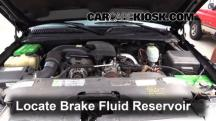 2005 Chevrolet Silverado 2500 HD 6.6L V8 Turbo Diesel Extended Cab Pickup (4 Door) Brake Fluid