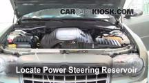 2005 Chrysler 300 C 5.7L V8 Power Steering Fluid