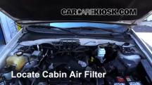 2005 Ford Escape Limited 3.0L V6 Filtro de aire (interior)
