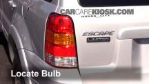 2005 Ford Escape Limited 3.0L V6 Luces