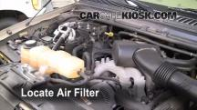 2005 Ford Excursion Limited 6.8L V10 Filtro de aire (motor)