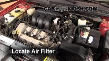 2005 Ford Five Hundred SEL 3.0L V6 Air Filter (Engine)