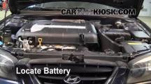 2005 Hyundai Elantra GLS 2.0L 4 Cyl. Sedan (4 Door) Battery