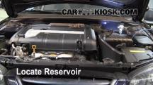 2005 Hyundai Elantra GLS 2.0L 4 Cyl. Sedan (4 Door) Líquido limpiaparabrisas