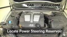 2005 Hyundai Tiburon GT 2.7L V6 Power Steering Fluid